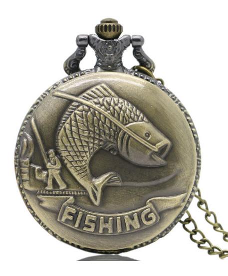 Vreckové hodinky Fishing P217
