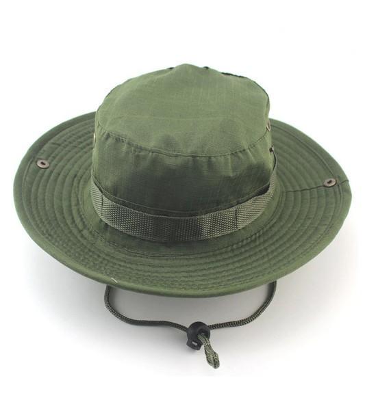 7ab02a24d Klobúk Bush Hat Zelený