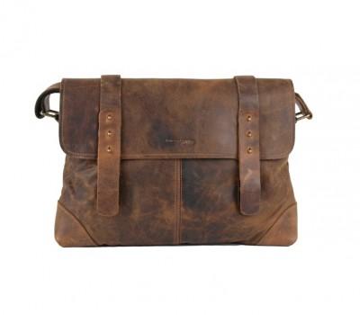 Kožená taška na rameno GreenLand 2520-25 c574fb3a8a0