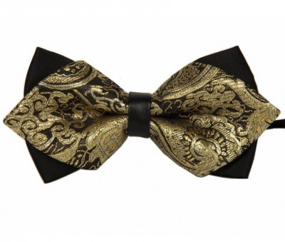 Motýlik Miranda Suit Bow Gold