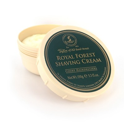 Taylor of Old Bond Street Royal Forest krém na holenie 150 g