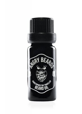 Angry Beards Christopher The Traveller olej na fúzy 10 ml