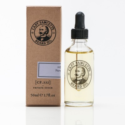 Captain Fawcett Private Stock, olej na fúzy 50 ml