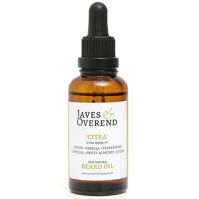 Javes and Overend Citra, olej na fúzy 50 ml