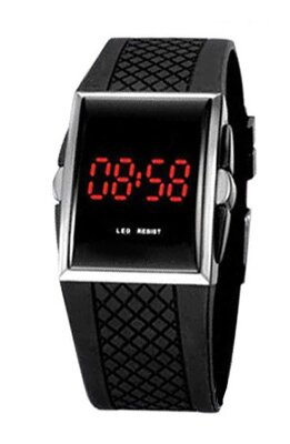 Hodinky LED Watch 7381 Black