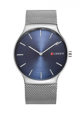 Hodinky Curren 8256 Silver-Blue