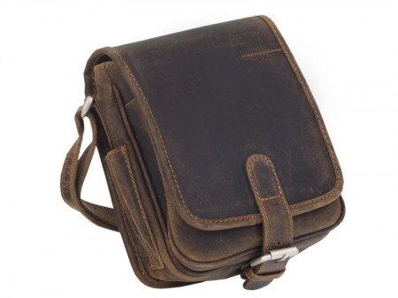 Kožená klopová taška GreenLand WestCoast 851-25
